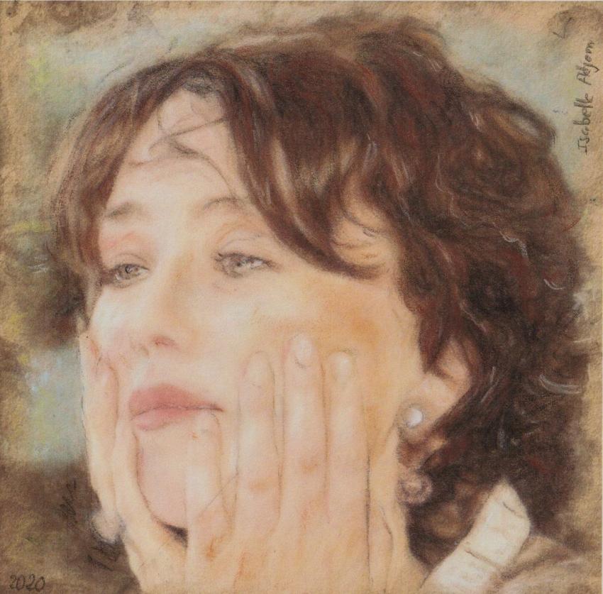Isabelle Adjani by baudet